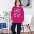 Kız Çocuk Pijama Takım Hmd 6033