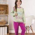 Kız Çocuk Pijama Takım Hmd 6034