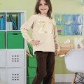 Kız Çocuk Pijama Takım Hmd 6035