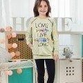 Kız Çocuk Pijama Takım Hmd 6036