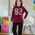 Kız Çocuk Pijama Takım Hmd 6038