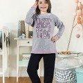 Kız Çocuk Pijama Takım Hmd 6039