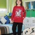 Kız Çocuk Pijama Takım Hmd 6040