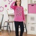 Kız Çocuk Pijama Takım Hmd 6042