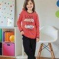 Kız Çocuk Pijama Takım Hmd 6050