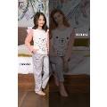 Kız Çocuk Pijama Takımı Süprem 2li Takım Yeni İnci CKP292