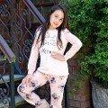 Kız Çocuk Sweatshirt Pijama Takım Anıl 6332
