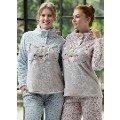 Leopar Baskılı Polar Pijama Takımı Feyza 3143