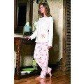 Maranda 7192 Kışlık Pijama Kadife Takımı