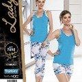 Mavi 3 Lü Takım Lady 7292