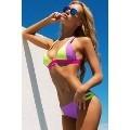 Renkli Şık Tasarım Bikini