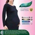Silverlife Ht2004 Anti Radyasyon Hamile Tişörtü Likralı Uzun Kol