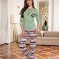 Yeni inci Bpj1050 Bayan Pijama Takım Süprem 2 Li Takım