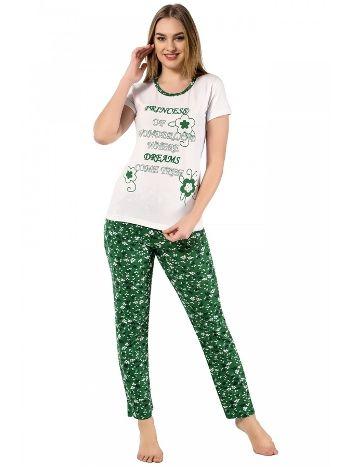 Akbeniz Bayan Kısa Kol Pijama Takımı 2368