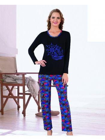 Akbeniz Bayan Pijama Takımı 2268