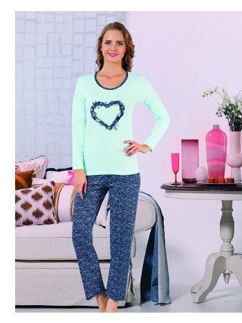 Akbeniz Bayan Pijama Takımı 2275