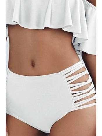 Angelsin Beyaz Çok Şık Bikini Alt