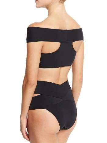 Angelsin Siyah Özel Tasarım Bikini Alt