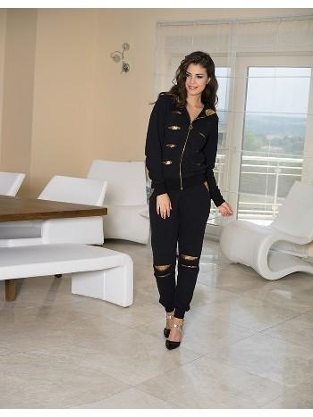 Bayan Kapşonlu Pijama Takım Anıl 9351