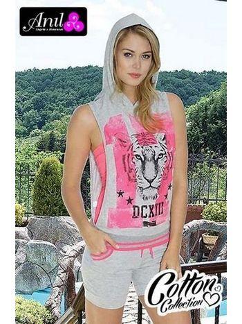Anıl Kapşonlu T Shirt Şort Takım 9264