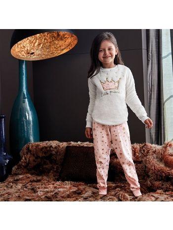 Anıl Kız Çocuk Uzun Kollu Pijama Takım 6346