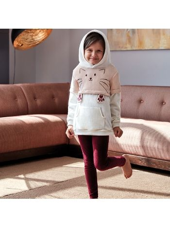 Anıl Kız Kollu Pijama Takım 6343