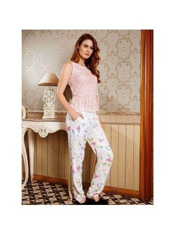 Anıl Pembe T-Shirt Pijama Takım 9524