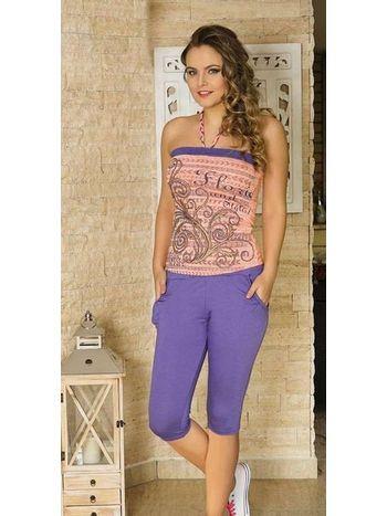 Bayan T-Shirt Kapri Takım Anıl 9311