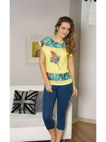 Bayan T-Shirt Tayt Takım Anıl 9316