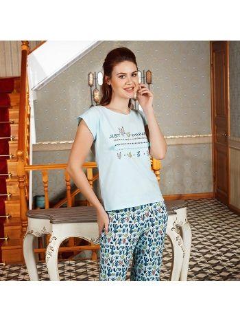 Anıl T-Shirt Pijama Takım 9518