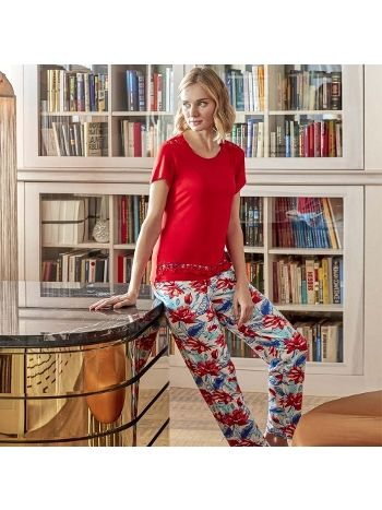 Anıl T-Shirt Pijama Takım 9582