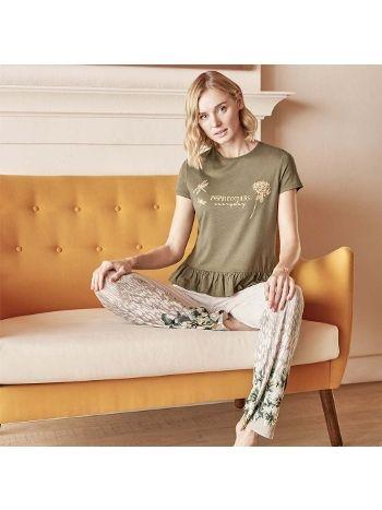 Anıl T-Shirt Pijama Takım 9589