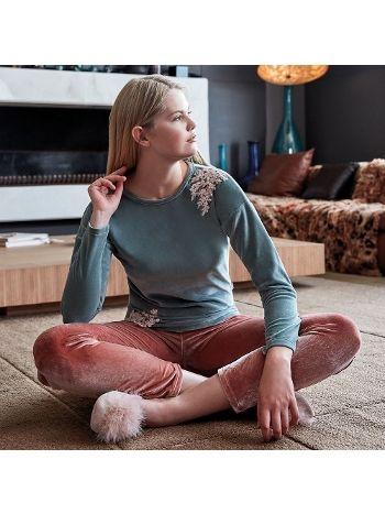 Anıl Uzun Kollu Pijama Takım 9534