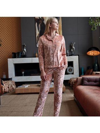 Anıl Uzun Kollu Pijama Takım 9535