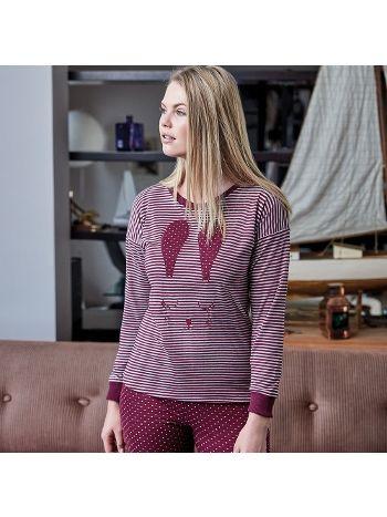 Anıl Uzun Kollu Pijama Takım 9541