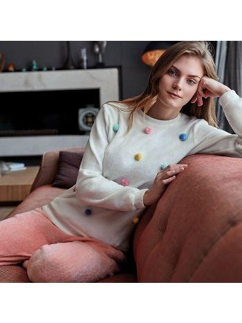 Anıl Uzun Kollu Pijama Takım 9547