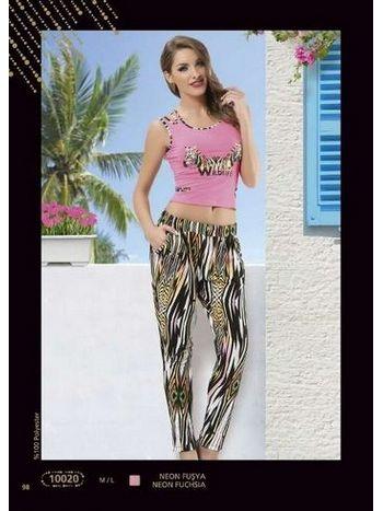 Anıt Zebra Baskılı Bayan Takım 10020