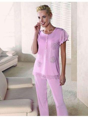 Cep Modelli Pijama Takımı Artış 1305