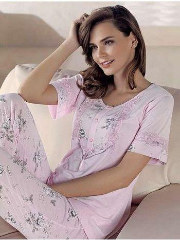 Desenli Pijama Takım Artış 1314