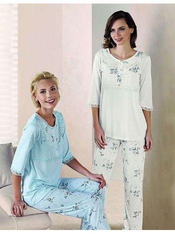 Yarım Kol Pijama Takım Artış 1318