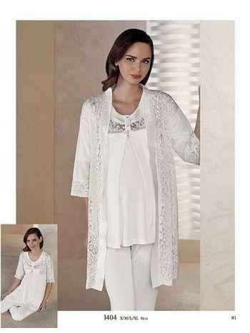3'lü Lohusa Pijama Takım Artış 1404