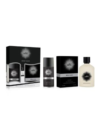 Astra Silver Scent Parfüm ve Deodorant Set - Erkek