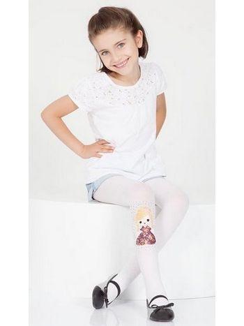 Daymod Bade Desenli Külotlu Çocuk Çorabı
