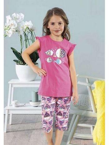 Balık Desenli Çocuk Pijama Takım HMD 6001