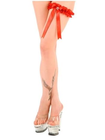 La Blinque Bayan Kırmızı Fantazi Bacak Bantı 434