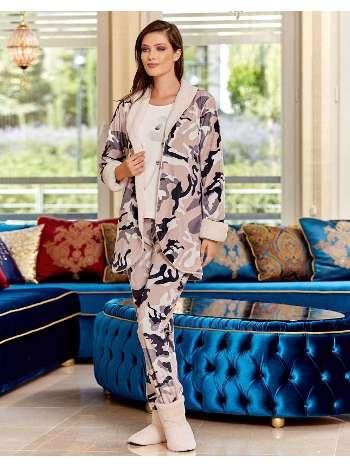 Bayan 3 lü Pijama Takım Dowry 15-117