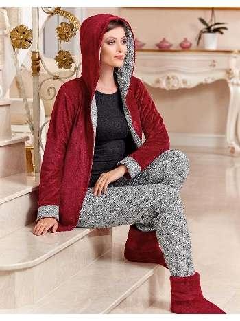 Bayan 3 lü Pijama Takım Dowry 15-119