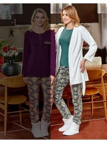 Bayan 3 lü Pijama Takım Dowry 15-75
