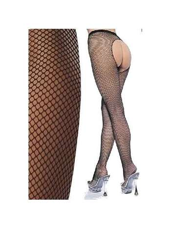 La Blinque Bayan Ağı Açık Külotlu Çorap 903 SİYAH