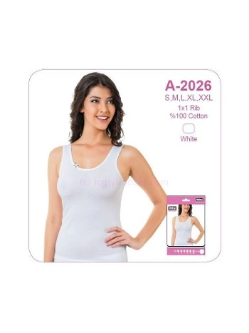 Bayan Beyaz Biyeli Ribana Kaşkorse Öztaş A2026